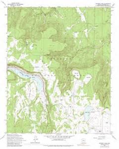 topo map arizona ashurst lake topographic map az usgs topo 35111a4