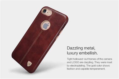 Nillkin Englon Leather Apple Iphone 8 Iphone 7 Black nillkin englon leather cover for apple iphone 7