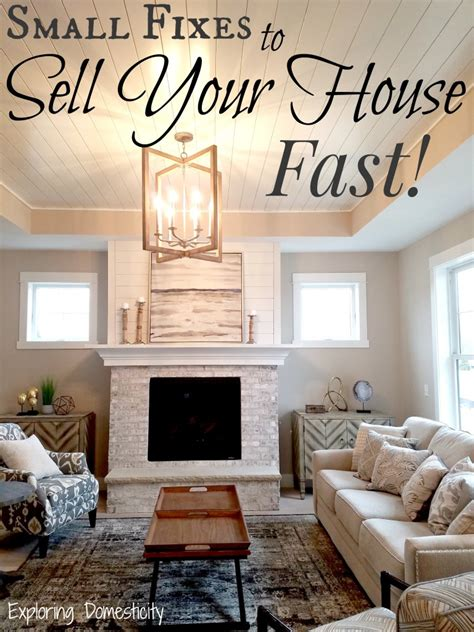 ways to sell a house fast small fixes to sell your house fast exploring domesticity