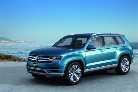 volkswagen 7 passenger suv volkswagen crossblue concept photos and details autotribute