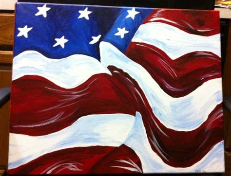 american flag painting sup crafty side