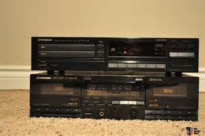 Cd player amp cassette deck combo photo 674057 us audio mart