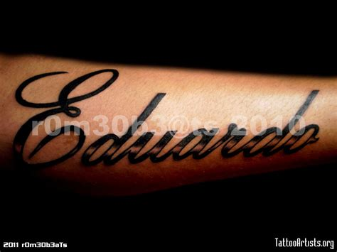name tattoos on arm 11 name designs
