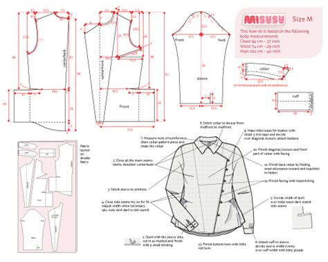 shirt pattern making pdf shirt inspired by downton abbey misusu more