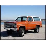 1976 Chevrolet Blazer  Information And Photos MOMENTcar