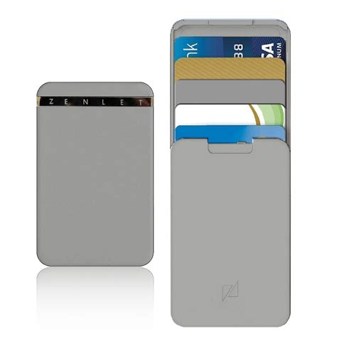 buy zenlet credit card package anti side wallet action wallet push pull card