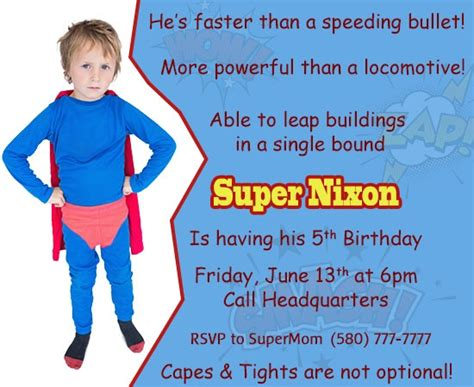 Backyard Birthday Party Ideas Awesome Superman Themed Birthday Party Ideas For Kids