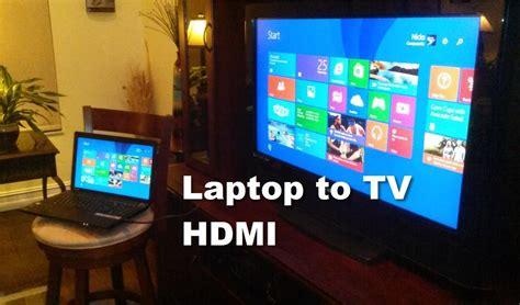 Harga Kabel Rca Laptop Ke Tv cara menghubungkan tv dan laptop dengan kabel hdmi