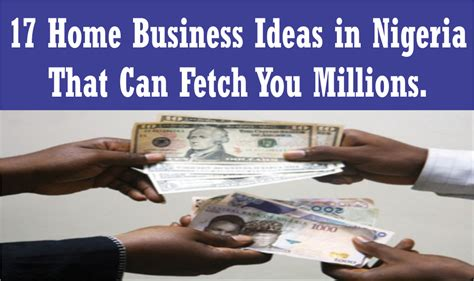 Small Business Ideas From Home List 17 Home Based Business Ideas In Nigeria That Can Fetch You