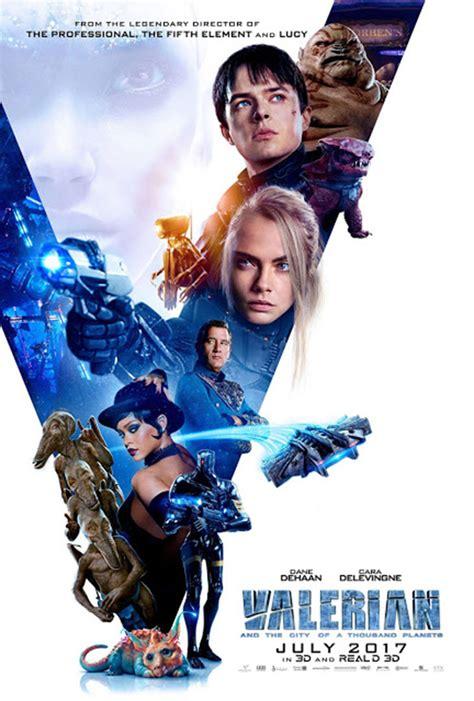 valerian y la ciudad 8467927100 161 nuevos p 243 steres de valerian y la ciudad de los mil planetas noche de cine