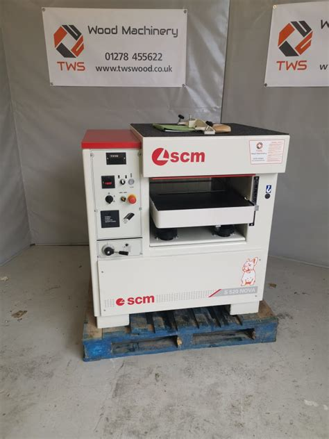 scm nova thicknesser woodworking machinery ce mark