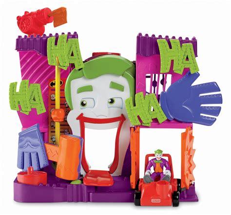 joker s fun house imaginext dc super friends the joker s fun house
