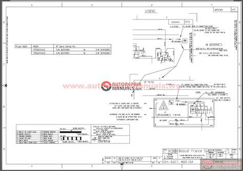 bobcat s250 wiring schematic bobcat s300 service manual