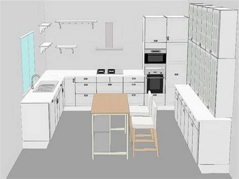 3d Kitchen Design Planner Build Kitchen With Ikea 3d Planner Tool Your Home