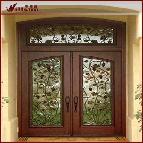 porte in ferro battuto prezzi doppio disegno porte in ferro battuto e vetro pannello