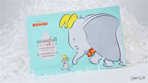 Etude House Disney Dumbo Moistfull Collagen Mask Sheet etude house moistfull collagen jumbo sheet mask