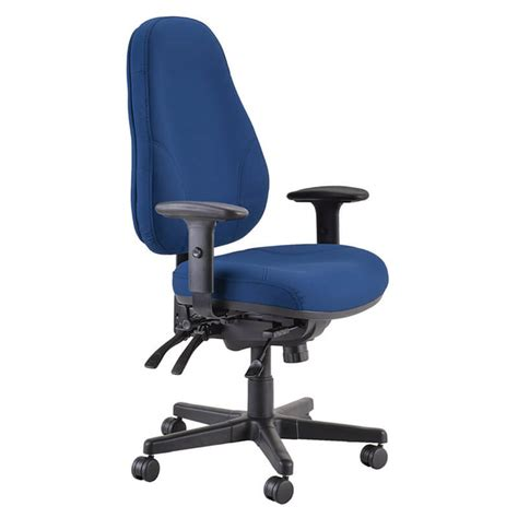 Buro 247 Black Chair by Buro Persona Leather Office Chairs Buro Seating New Zealand