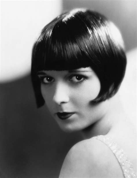 1920 modern bob hair cut pinterst the original it girl of the 1920s louise brooks bob