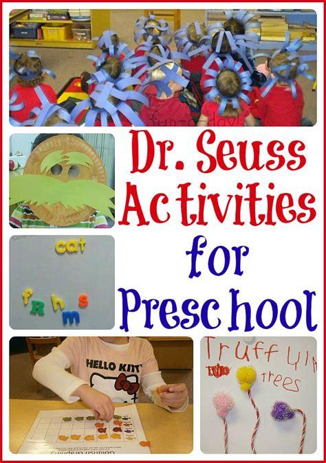literature themes for preschool 15 dr seuss activities for preschool dr seuss crafts
