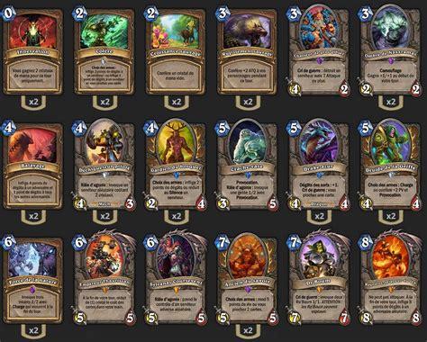 pro hearthstone decks druide combo deck pro hearthstone heroes of warcraft