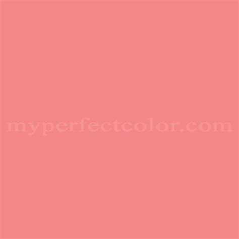 nickelodeon nk111 coral pink match paint colors myperfectcolor