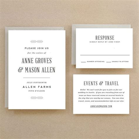 invitation templates for pages mac printable wedding invitation template instant download