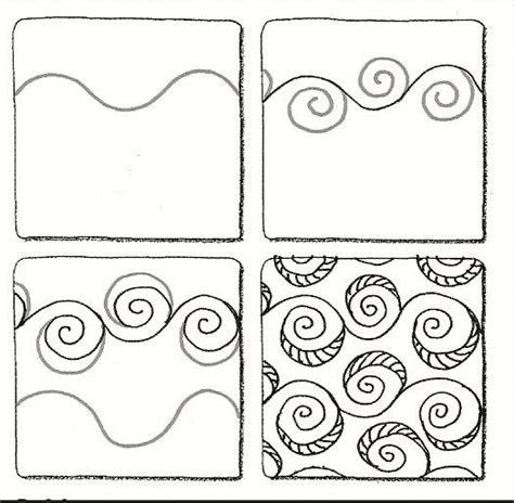 zentangle pattern wadical 460 best zentangle patterns images on pinterest tangle