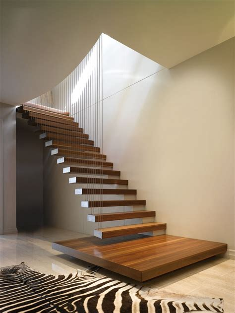 Home Interior Stairs by Design Is In The Details 10 Cantilevered Stair Designs