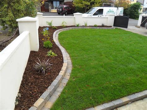 garden bed edging greenart landscapes garden design construction and