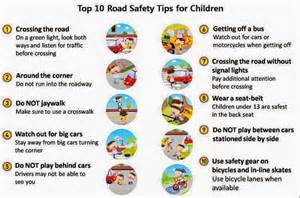 Top 10 road safety tips monsafety