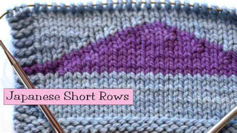 how to turn in knitting row knitting help japanese rows