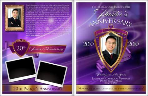 free pastor anniversary program templates pastor anniversary annual celebration