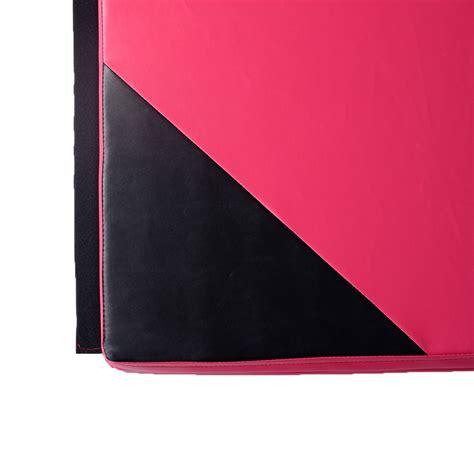 10 Panel Mat - 4x10x2 quot pink black panel mat