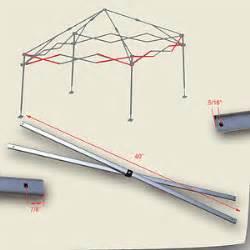 quik shade weekender elite 10 x 10 canopy side truss