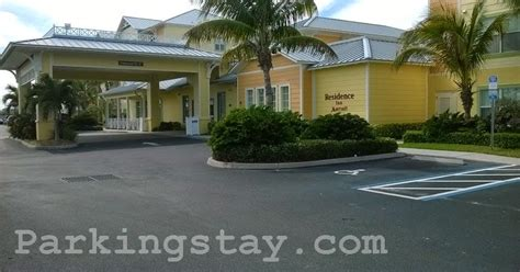 parkingstay residence inn cape canaveral