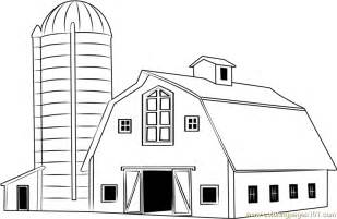 traditional wood barn coloring free barn coloring pages coloringpages101