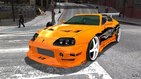 fast and furious gta 5 toyota supra fast and furious for gta 4