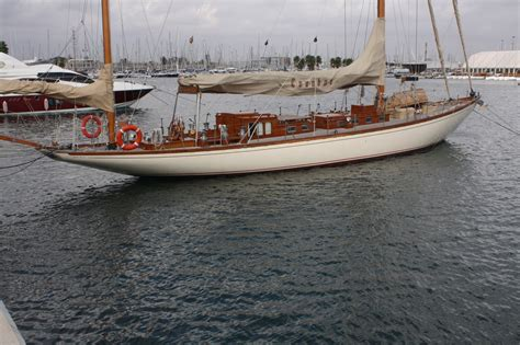 used boat loans usaa 1938 classic tore holm ivanhoe sail boat for sale www