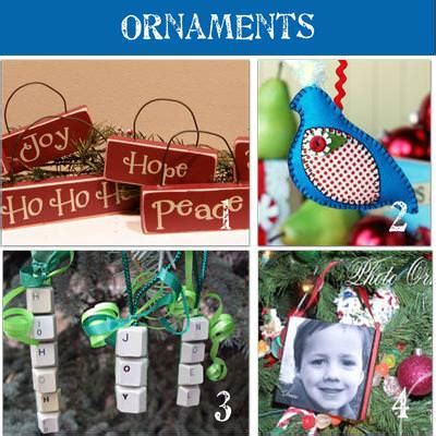 Christmas Decorations To Make At Home For Free   28 homemade christmas ornaments to make tip junkie