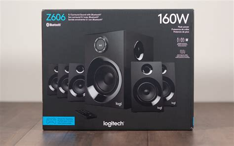 quick  review logitech   speakers pc perspective