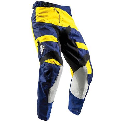 Vos Mx Marbela Navy tenue cross thor mx pulse level bleu marine jaune 2018 fx motors