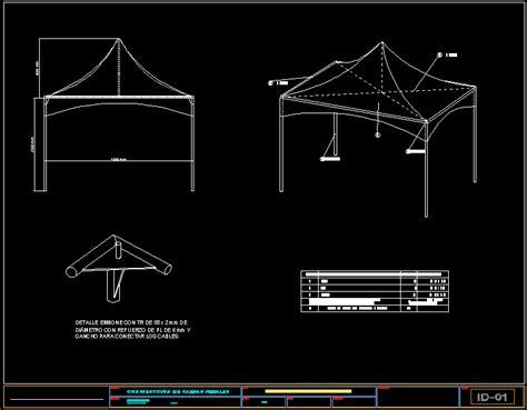 tent fairground dwg block  autocad designs cad