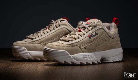 Fila Disruptor In White shop fila disruptor low sand white at the sneakers shop