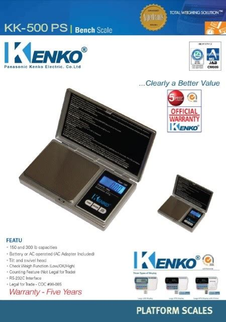 Timbangan Portable Digital Ps 8 timbangan digital kenko kk 200 ps pt kenko elektrik indonesia