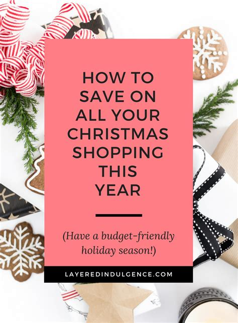 how to get starterd for chrismas how to save on your shopping this year