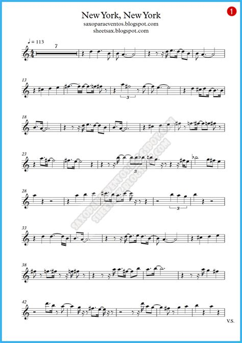 new year song violin score new york new york frank sinatra score and track sheet