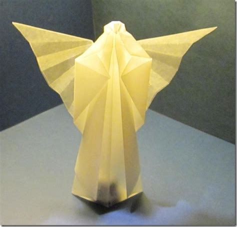 Engel Origami - inspired an origami