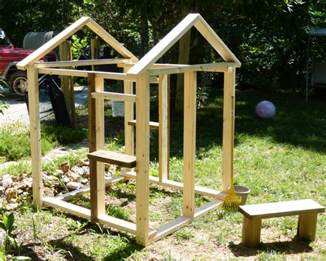 diy outdoor playhouse plans pictures download unique wine