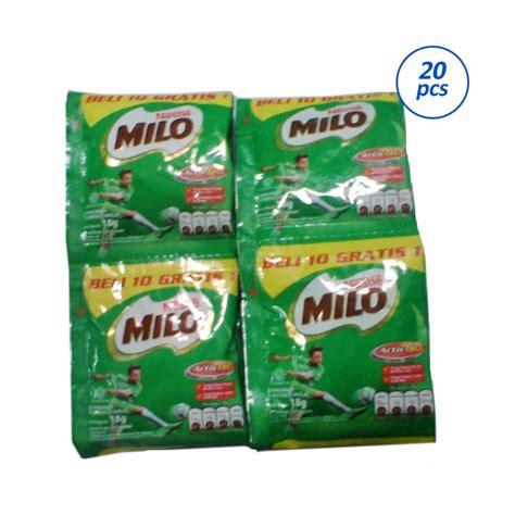 Nestle Milo Active Go 300 Gr jual milo activ go 20 sachet 18 gr harga