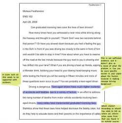 College Admissions Essays That Worked by Exle Of Argumentative Essay In Apa Format
